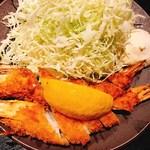 79418058 - エビフライ定食