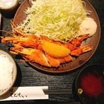 79418059 - エビフライ定食