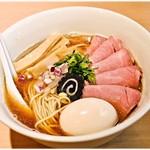 らぁ麺 はやし田 - 特製のどぐろそば 1200円 お魚の旨味に溢れた一杯です♪
