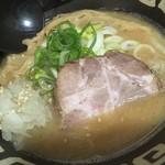 麺恋 佐藤 - ハーフラーメンみそ