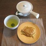 Chaie - 知覧茶&茶家たいやき(季節のおすすめ:桜あん)