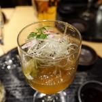 天ぷらと日本酒 明日源 - 先付け