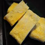 79421516 - 竹鶏の出汁巻き