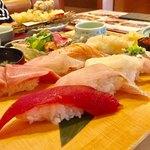 鮨・海鮮料理 波奈 - にぎり  雪 1836円 税込