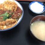 満腹食堂 - かつ丼 750円