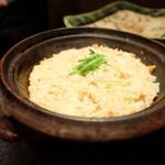りゅうの介 - 蟹と生姜の釜焚きご飯