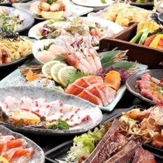 北の幸を堪能できる食べ飲み放題コースが2980円!
