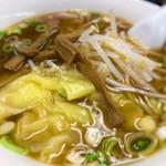 らーめん亭 - ワンタン麺 500円
