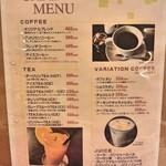 79425608 - コーヒーメニュー