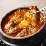 東京純豆腐 - 季節限定の【牡蠣スンドゥブ】
