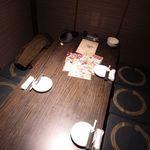 立川個室居酒屋 柚柚 - 内観写真:堀こたつ式テーブル席