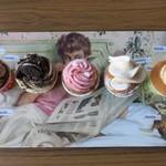 79426689 - 5種食べくらべミニカップケーキ