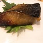 だるま寿司 - 銀ダラの西京焼き