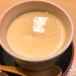 だるま寿司 - 牡蠣の茶碗蒸し!これ絶品!!