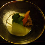 あたみ 石亭 - 冬瓜鶏スープ煮 おいしい!!