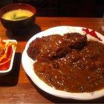 プルメリア - カツカレー定食¥800