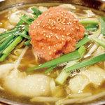 ◆明太子もつ鍋