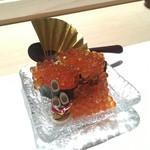 鮨 割烹 福松 - いくら新年-3