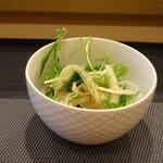 鮨 中 - ◆共通・・野菜サラダ。