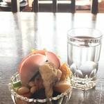 慈雨 - 料理写真:モーニングに付く「宝石サラダ」*シェルロイ勝手にネーミング(2018.1.15)