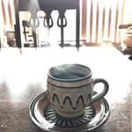 慈雨 - 自家焙煎のコーヒーは、ご主人が担当(2018.1.15)