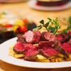 びすとろハヒフヤ - 料理写真:牛ハラミのステーキ&フリット 赤ワインバター