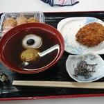 氷上パーキングエリア 軽食コーナー - 料理写真: