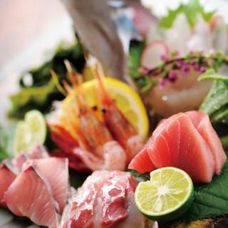 旬の鮮魚を一番美味しい食べ方でどうぞ!