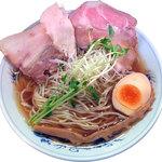 麺や 樂 - 清湯ラーメン(しょうゆ)