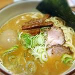 藤原らーめん店・カレー店 - 藤原らーめん  濃厚なスープがうまい‼