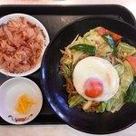 餃子の王将 - 料理写真:極王焼きそば