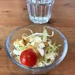 カフェ クベル - サラダ付き