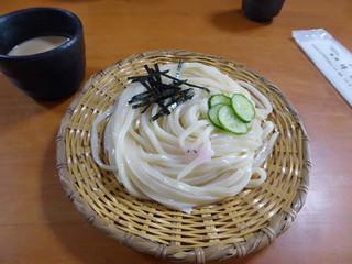 清水屋 - うむどん_中ざる(1155円)_2018-01-07