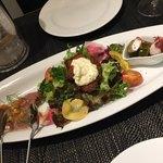 トラットリア ラ ロッカ - おまかせ前菜3種盛り合わせ