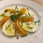 パスタ職人のいるイタリアン Pastaio Labo - オレンジとミントのカプレーゼ