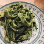 パスタ職人のいるイタリアン Pastaio Labo - 木の実香るジェノベーゼソースタリアテッレ