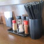 たく味 - テーブルセット