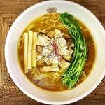 らぁめん翠蓮 - 料理写真:濃いめ焼き干し醤油
