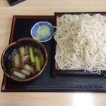 さらしん - 鴨せいろ蕎麦(大盛)900円