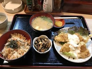 利根 - ☆鶏南蛮定食(税込700円) バランスの取れた定食でした。