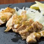 鶏ちゃん焼 時  - 鶏の柚子胡椒焼き
