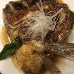七伍屋 - 大きな鯛の兜煮、¥480でいいの?