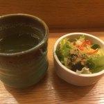 79449531 - お茶とサラダ