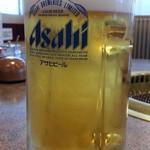 安楽亭 - ドリンク写真:生ビールはスーパードライ490円