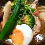 銀座スープカレー菜時記 - 滋味深い味わいスープカレー