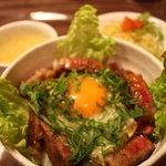 キッチンたまご亭 - サラダ、スープ付き
