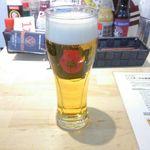 ビーフキッチンスタンド - 生ビール