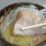 味噌蔵 麺駒亭 - チャーシュー