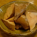 和酒飯くり家 - あん肝のしょうが煮(480円)