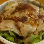 和酒飯くり家 - 豚しょうが焼き丼(650円)